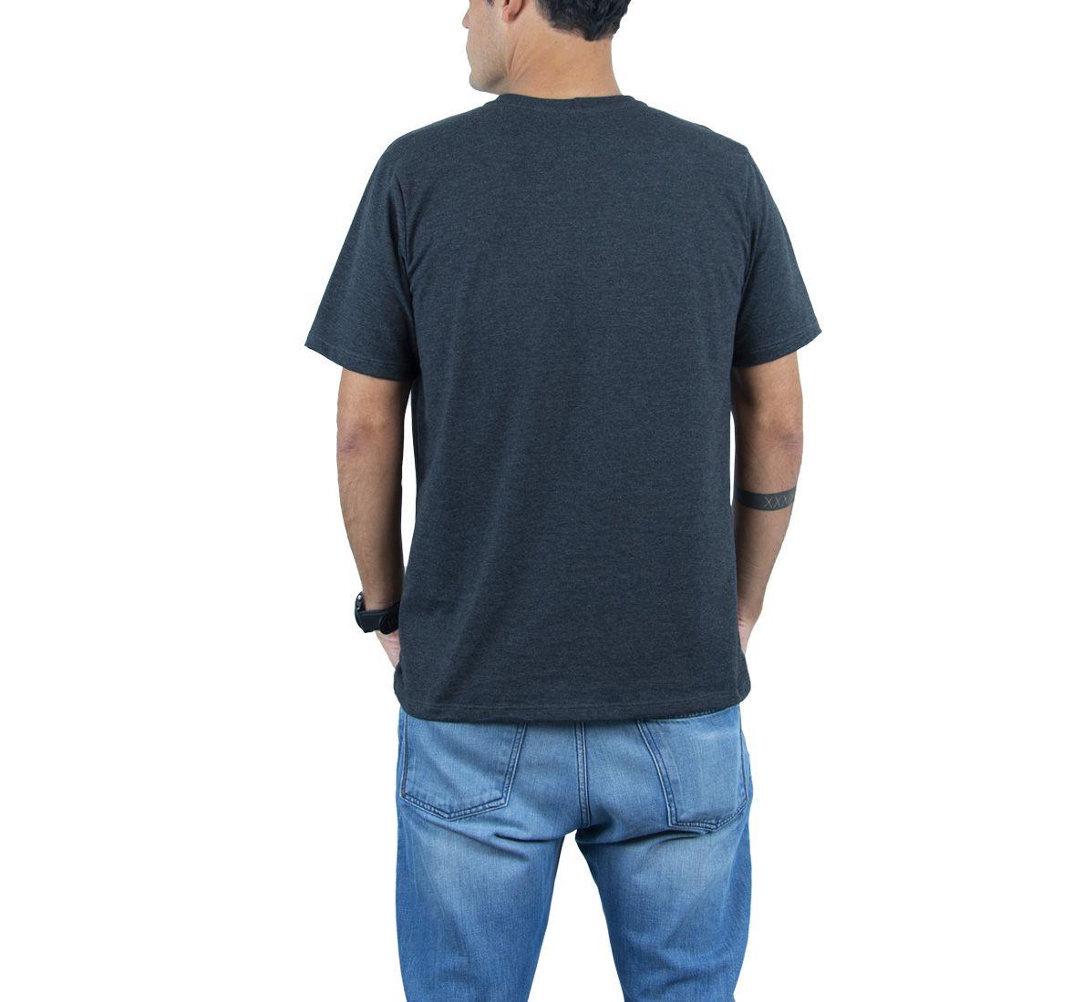 Camiseta Run&Sweat Masc - Dark Mescla - Woom 247