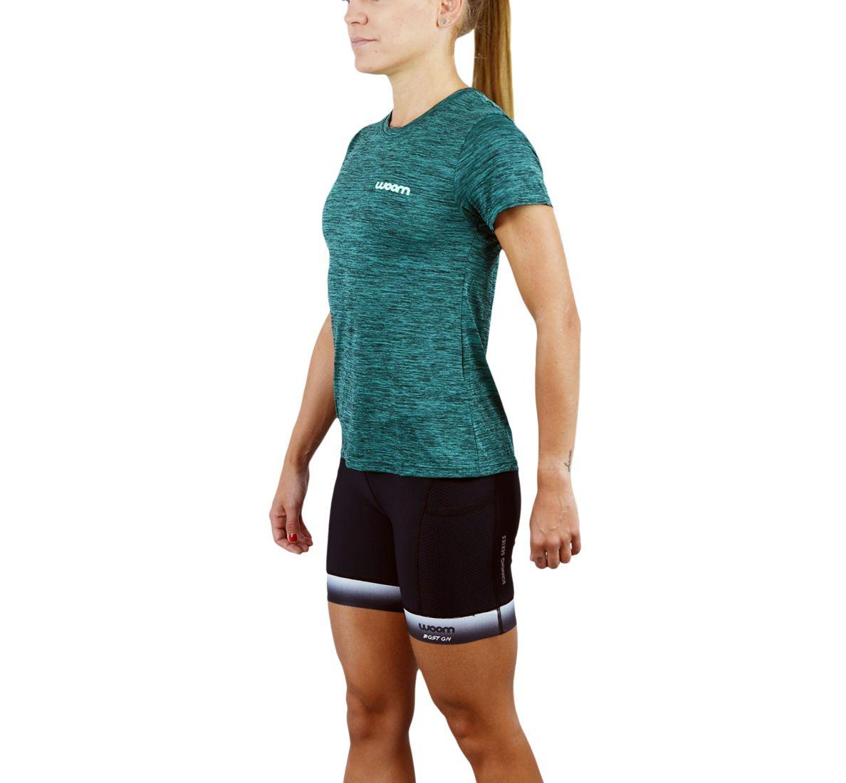 Camiseta Running Fem - Armstrong - Verde