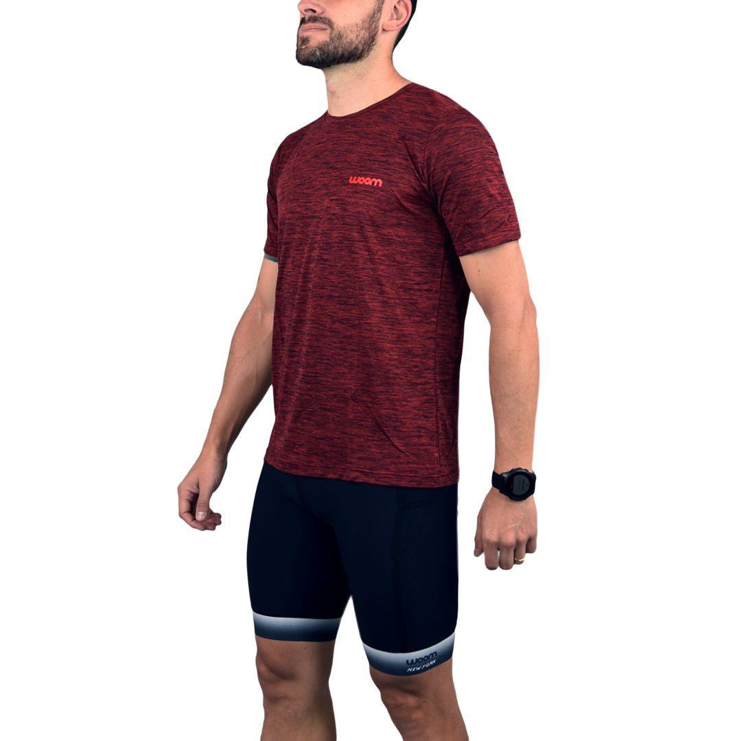 Camiseta Running Masc - King - Vermelho