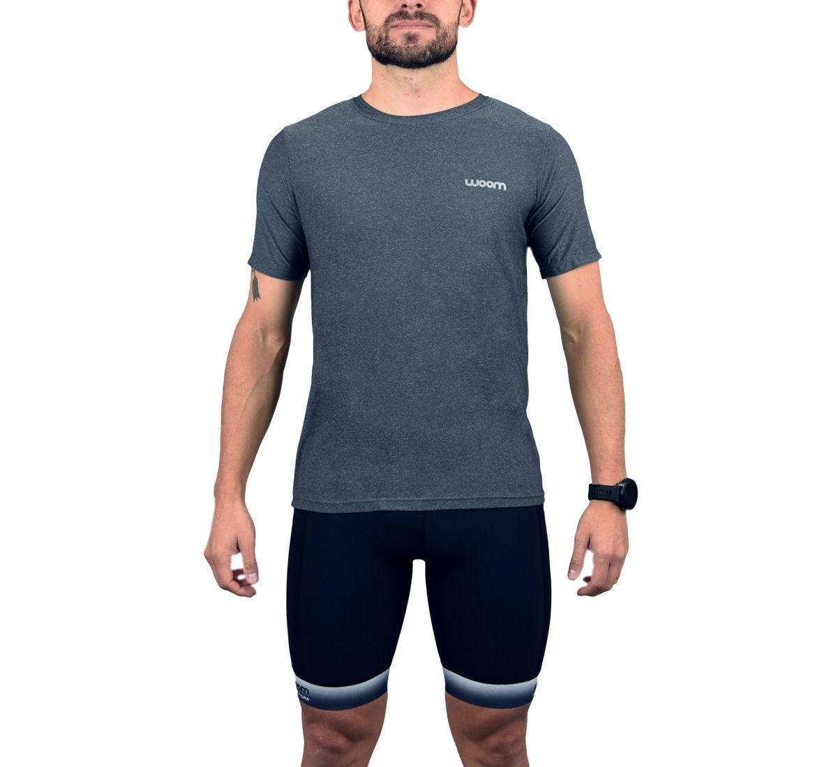 Camiseta Running Masc - Paxson - Silver