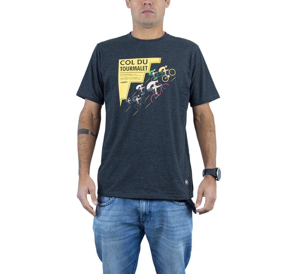 Camiseta Tourmalet Masc - Dark Mescla - Woom 247