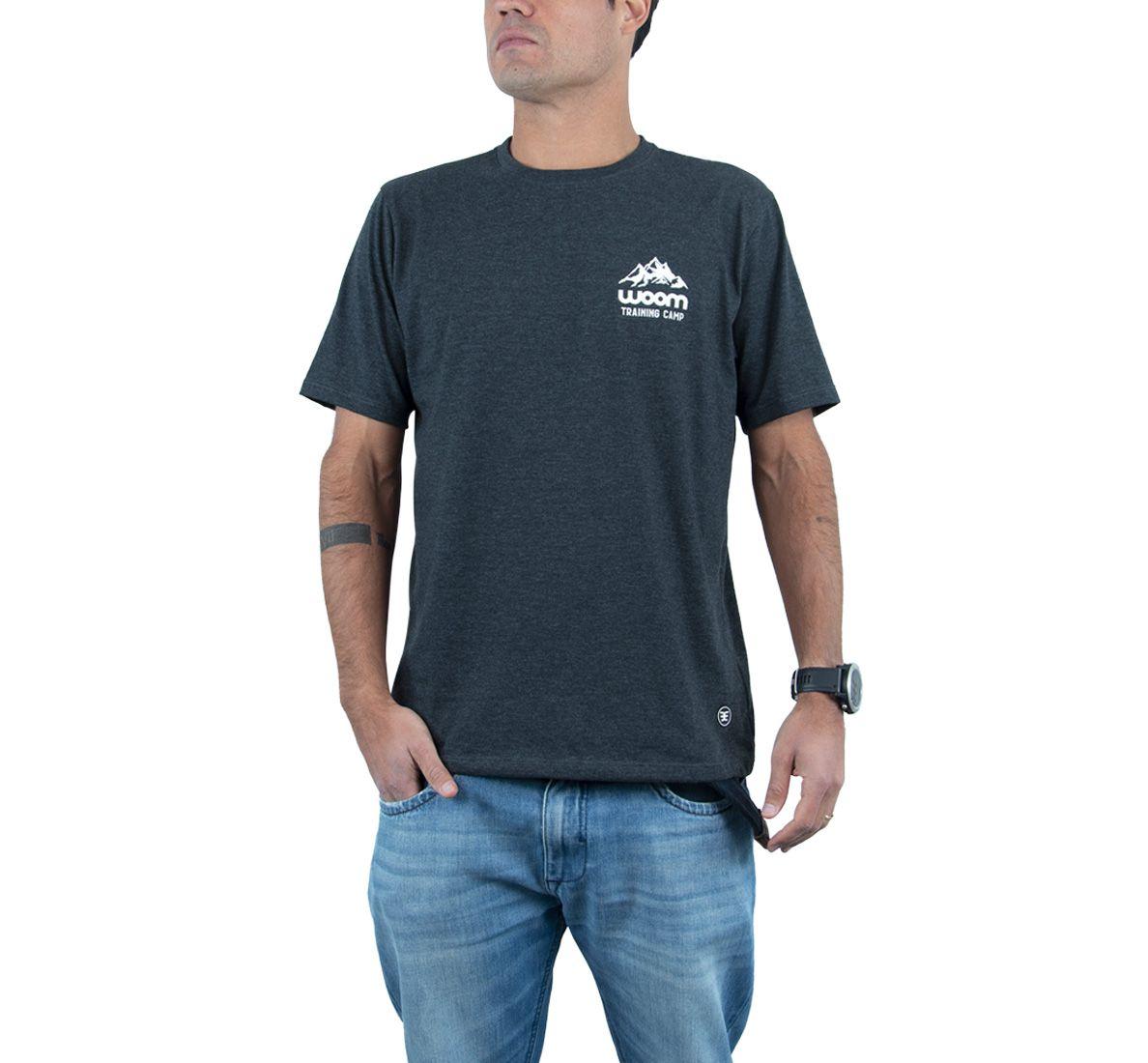 Camiseta Training Camp Masc - Dark Mescla - Woom 247