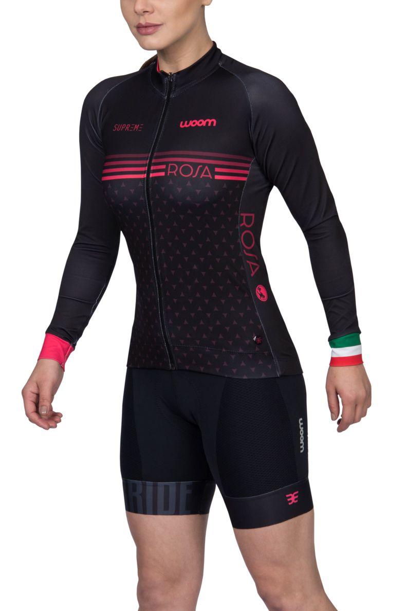 Jaqueta Ciclismo Supreme Rosa - Fem - 2019
