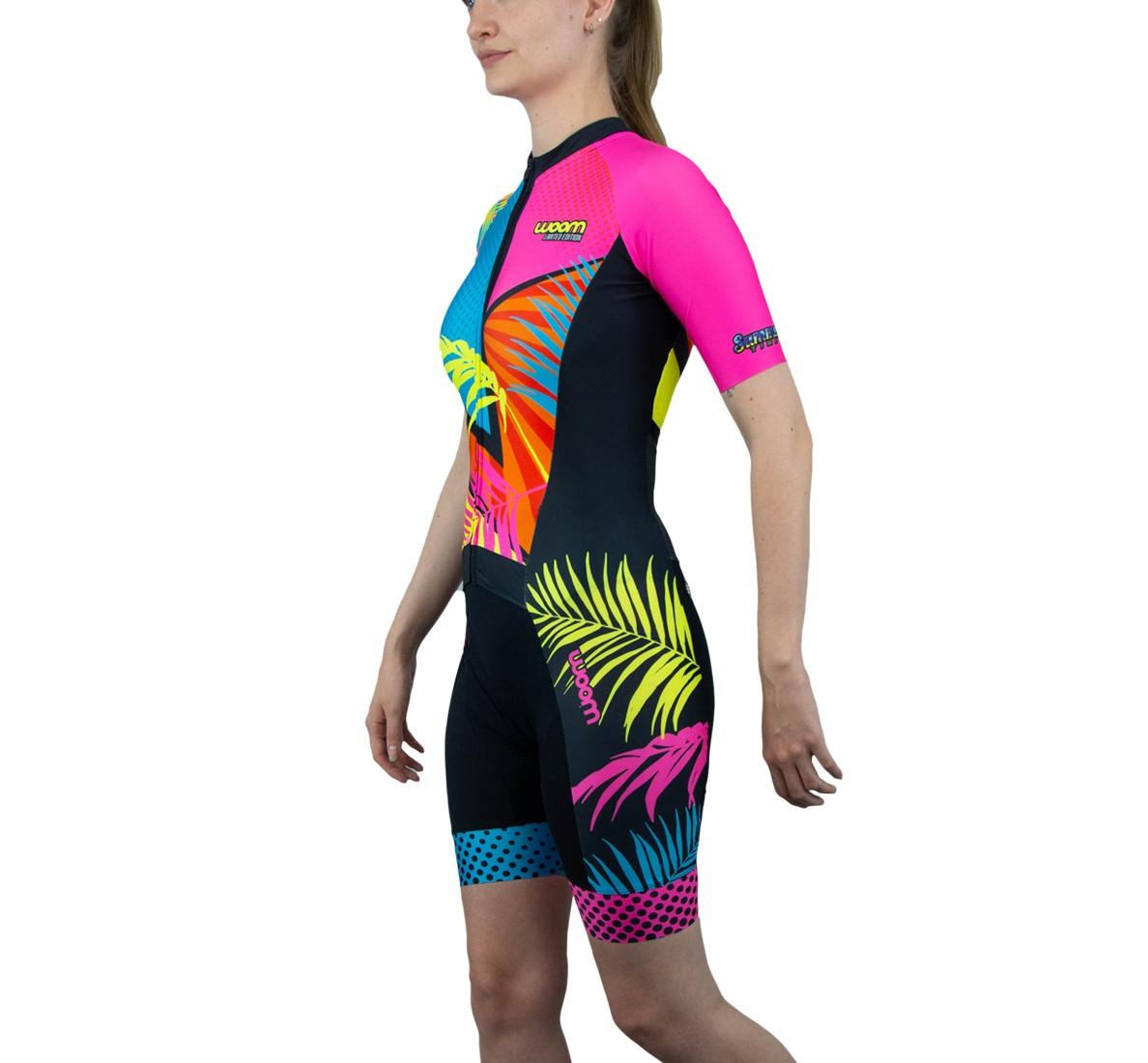 Macaquinho Ciclismo Ed. Limitada Aurora Fem Summer