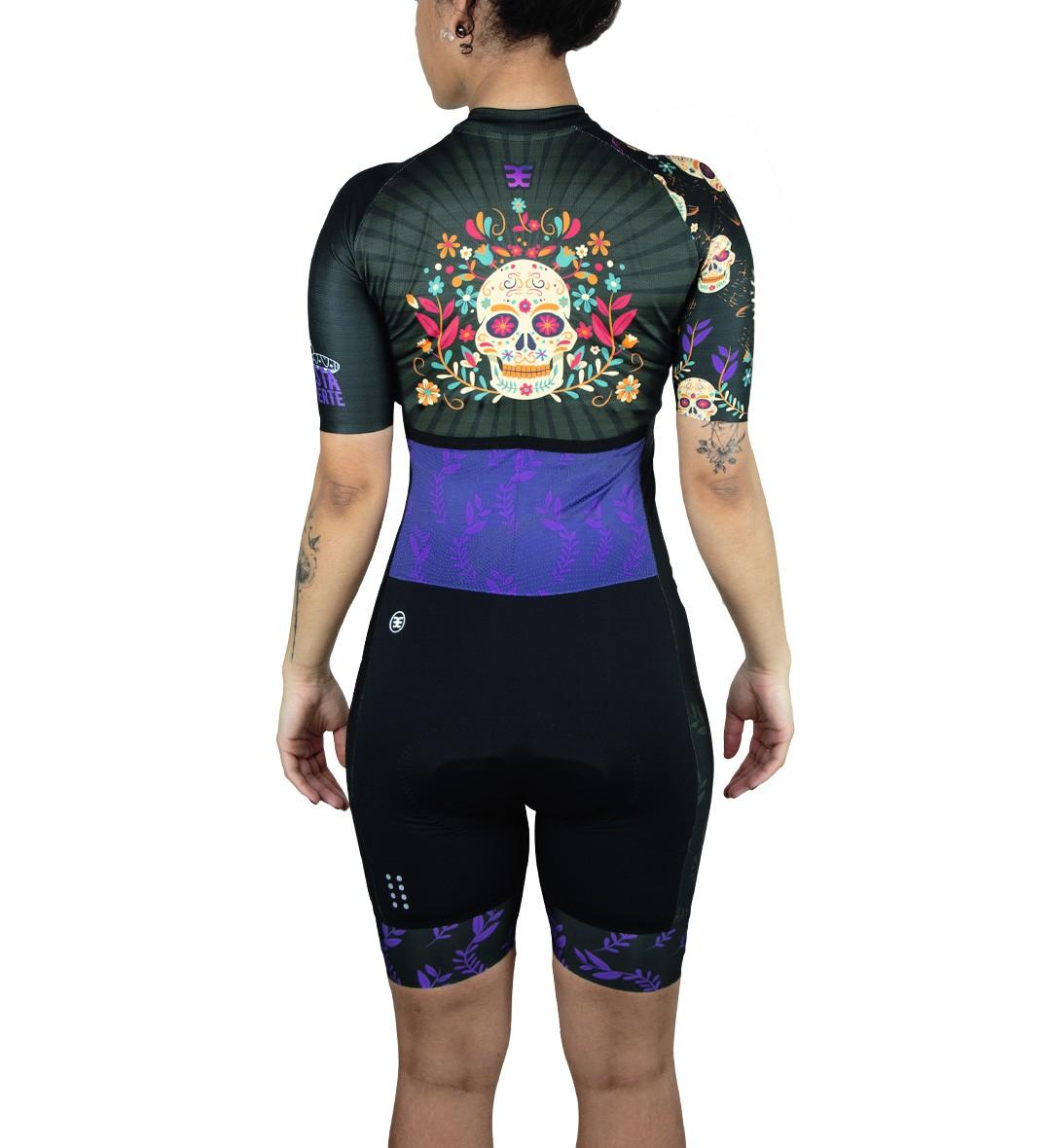 Macaquinho Ciclismo Ed. Limitada La Catrina Fem
