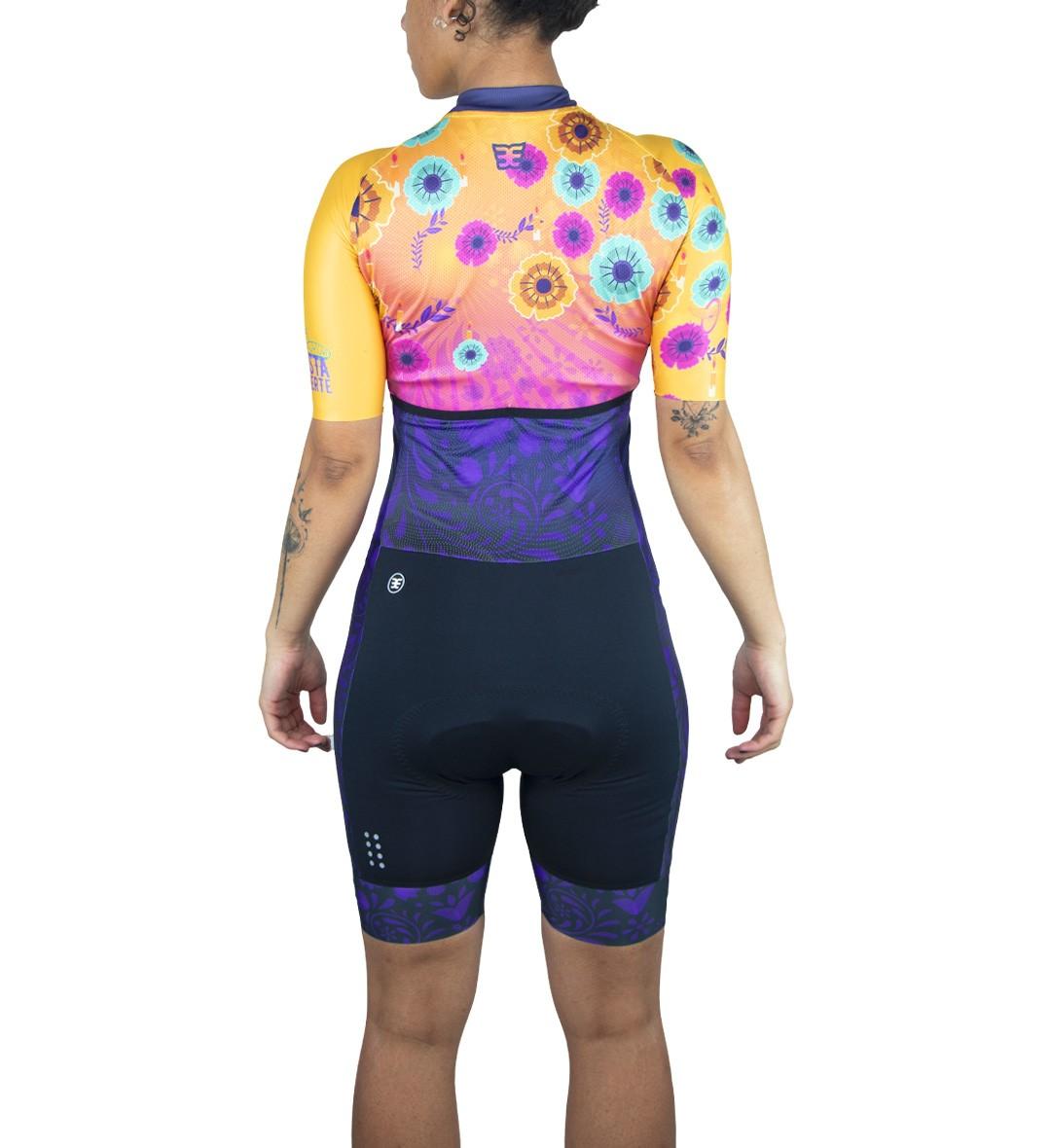 Macaquinho Ciclismo Ed. Limitada La Fiesta Fem