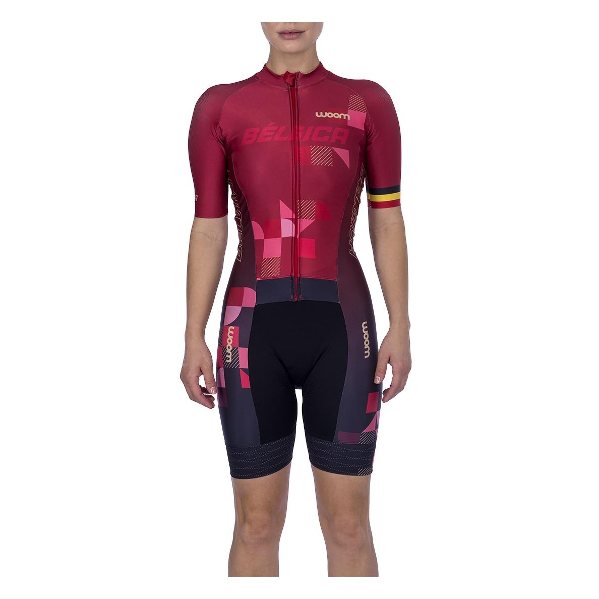 Macaquinho Ciclismo Supreme Bélgica Fem - 2021