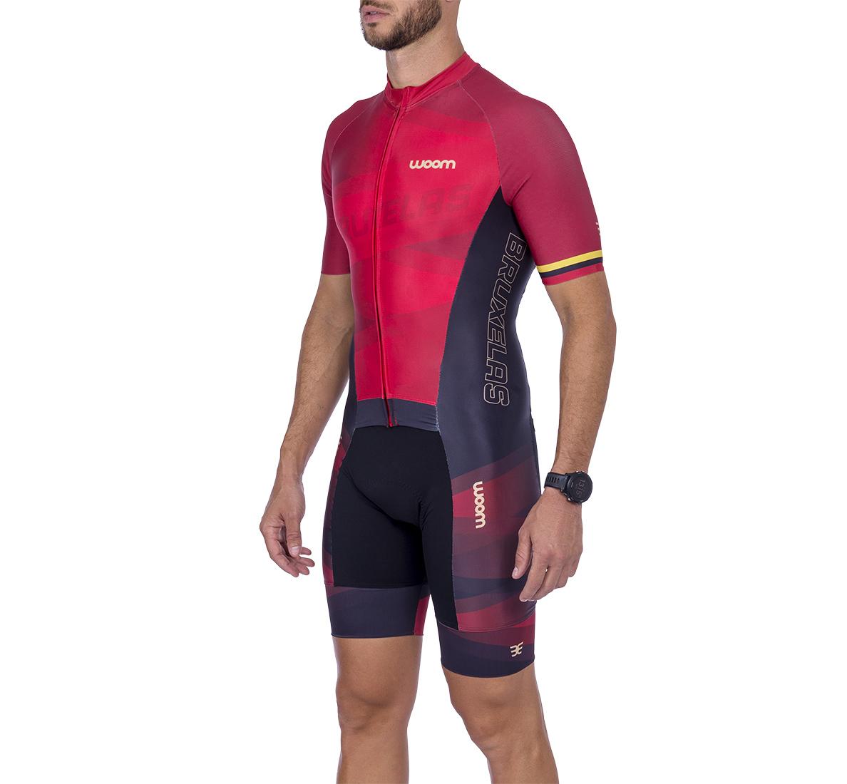 Macaquinho Ciclismo Supreme Bruxelas Masc - 2021