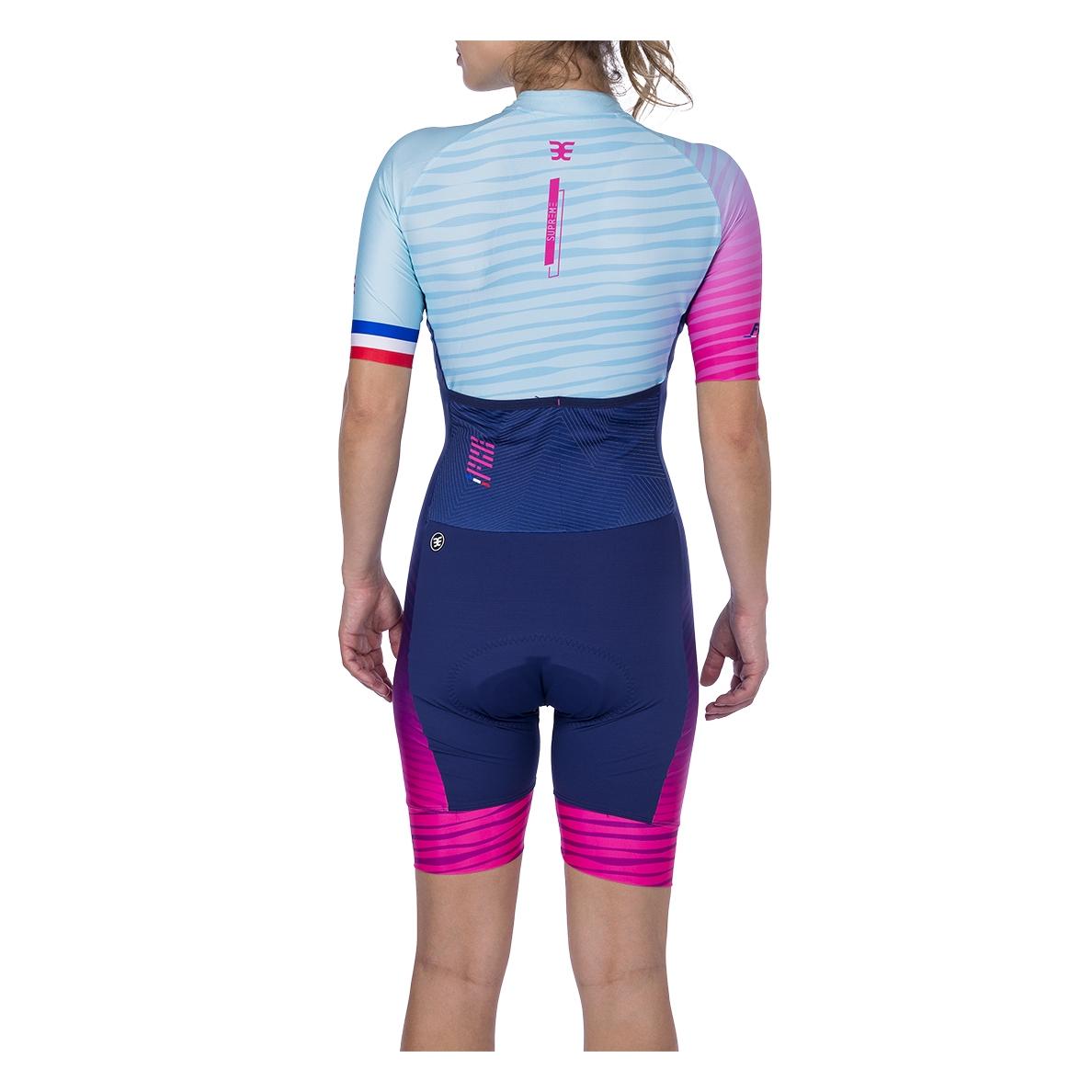 Macaquinho Ciclismo Supreme France Fem - 2021