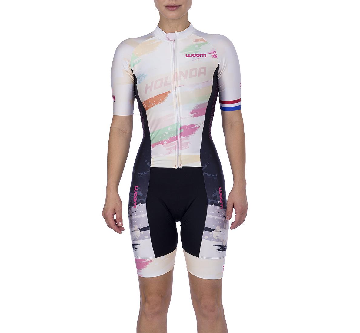 Macaquinho Ciclismo Supreme Holanda Fem - 2021