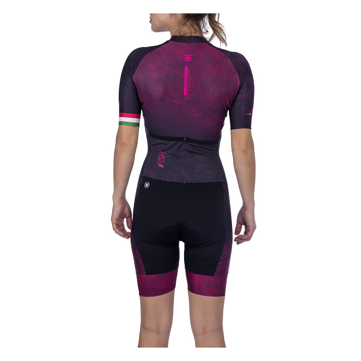 Macaquinho Ciclismo Supreme Rosa Fem - 2021