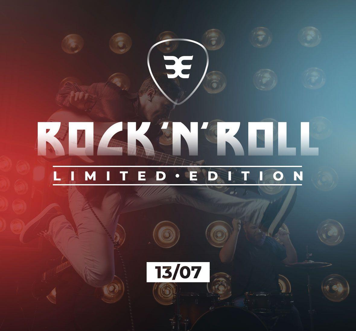 Macaquinho Tri c/ manga Rock n Roll Masc - Preto - Ed. Ltda