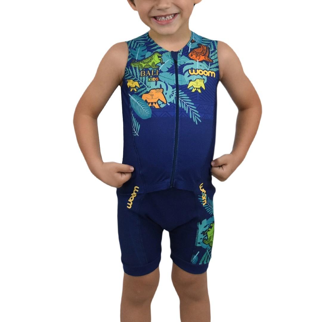 Macaquinho Triathlon 140 Bali Kids - Masc - 2019