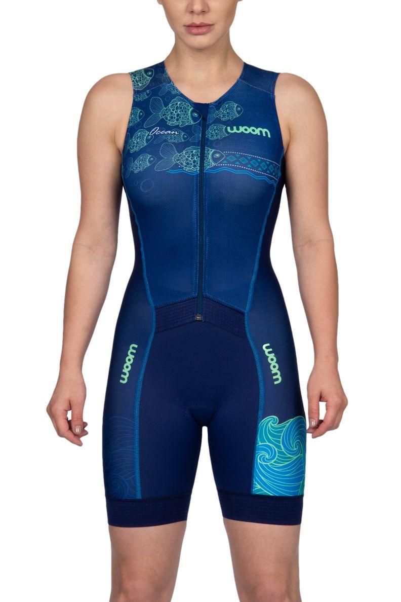 Macaquinho Triathlon 140 Ocean - Fem - 2019