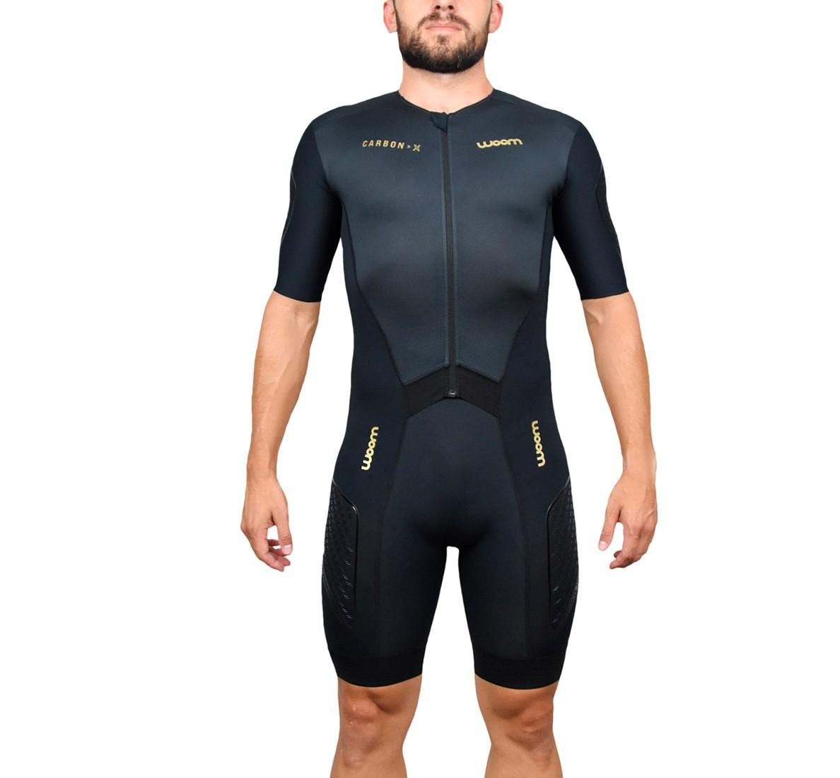 Macaquinho Triathlon com manga 140 Carbon - Masc - 2019 140