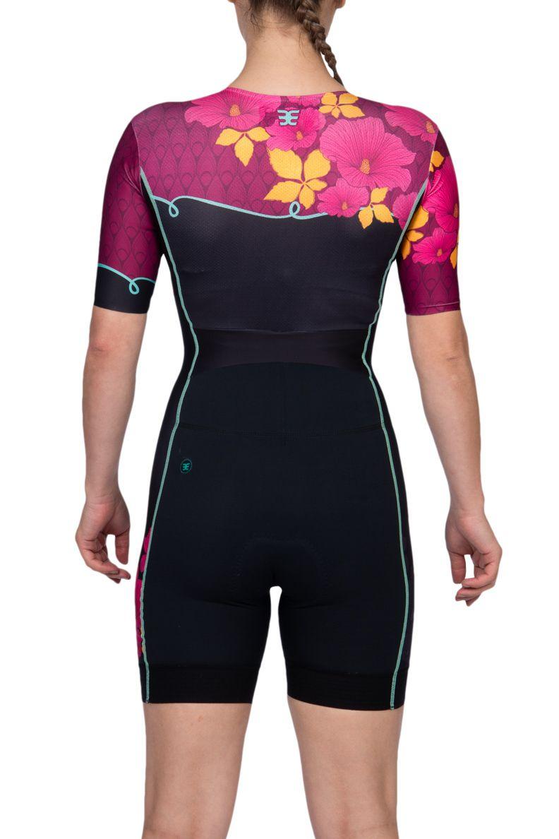 Macaquinho Triathlon com manga 140 Spring - Fem - 2019