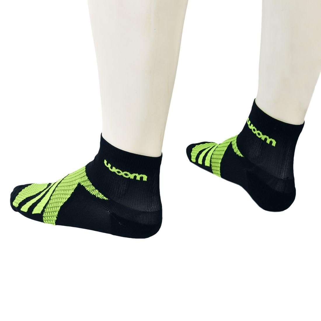 Meia Running 140 Preto / Verde - Masc - 2020