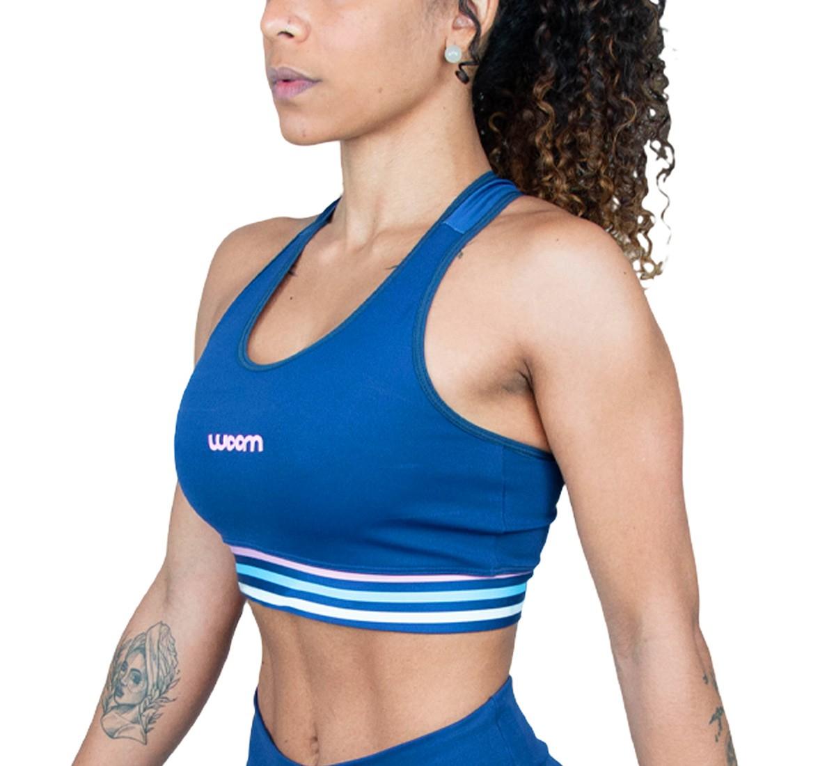 Top Running (Ed Ltda) X-fit Azul Marinho Fem 2021
