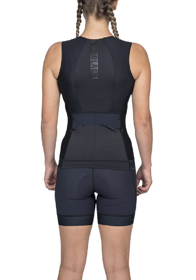 Top Triathlon Carbon Black (Preto) - Fem - 2020
