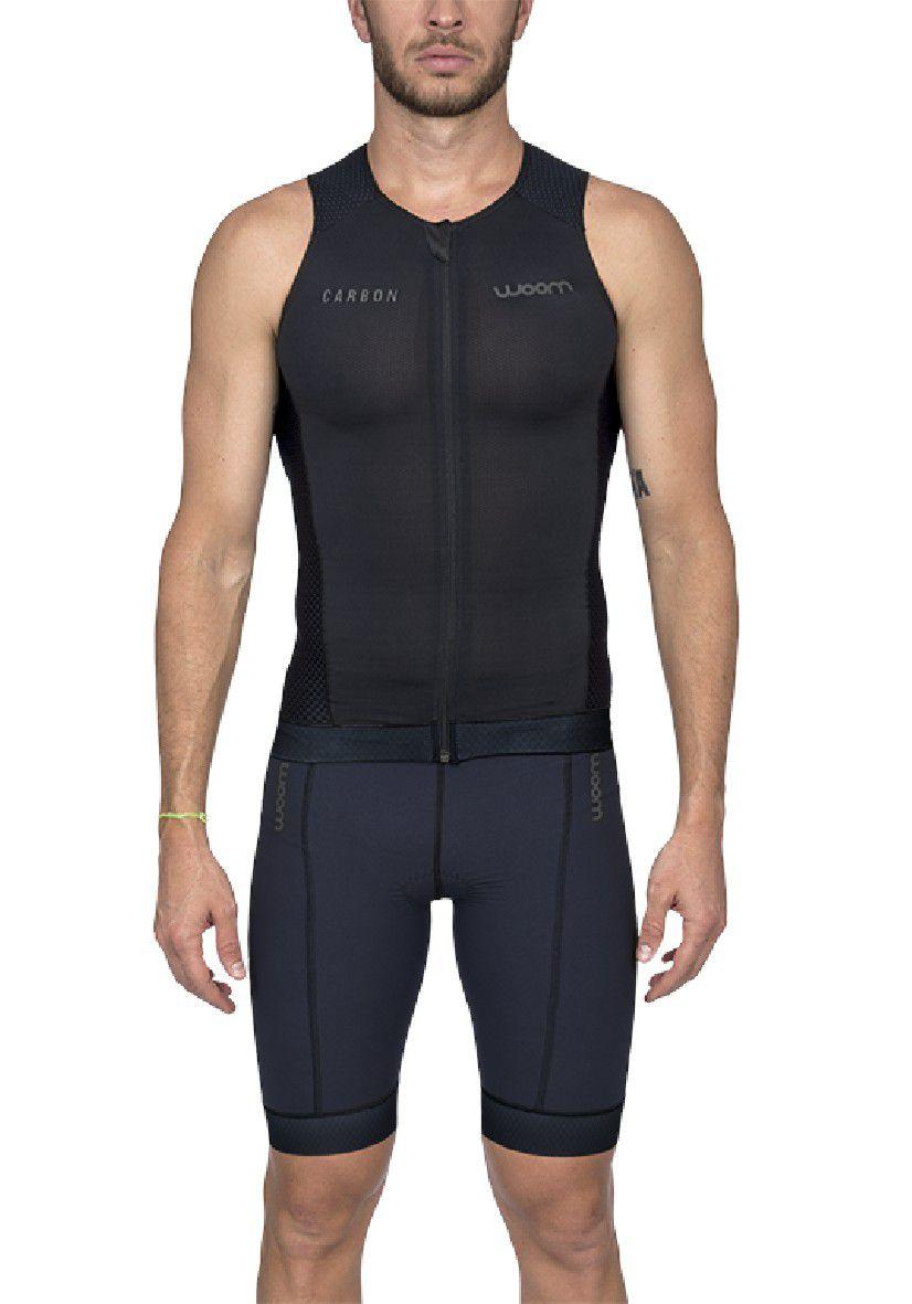 Top Triathlon Carbon Black (Preto) - Masc - 2020