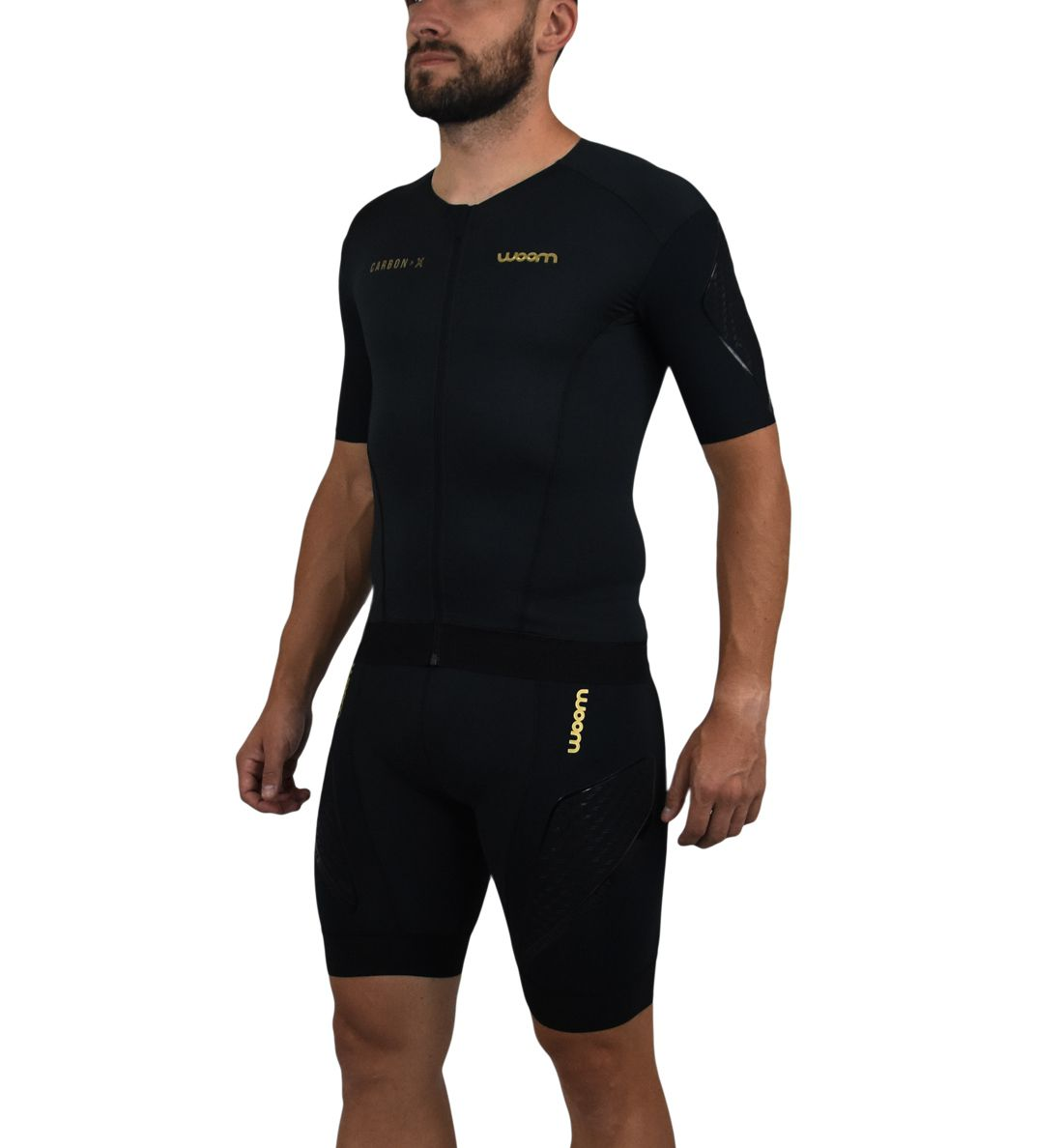 Top Triathlon com manga 140 Carbon - Masc - 2019