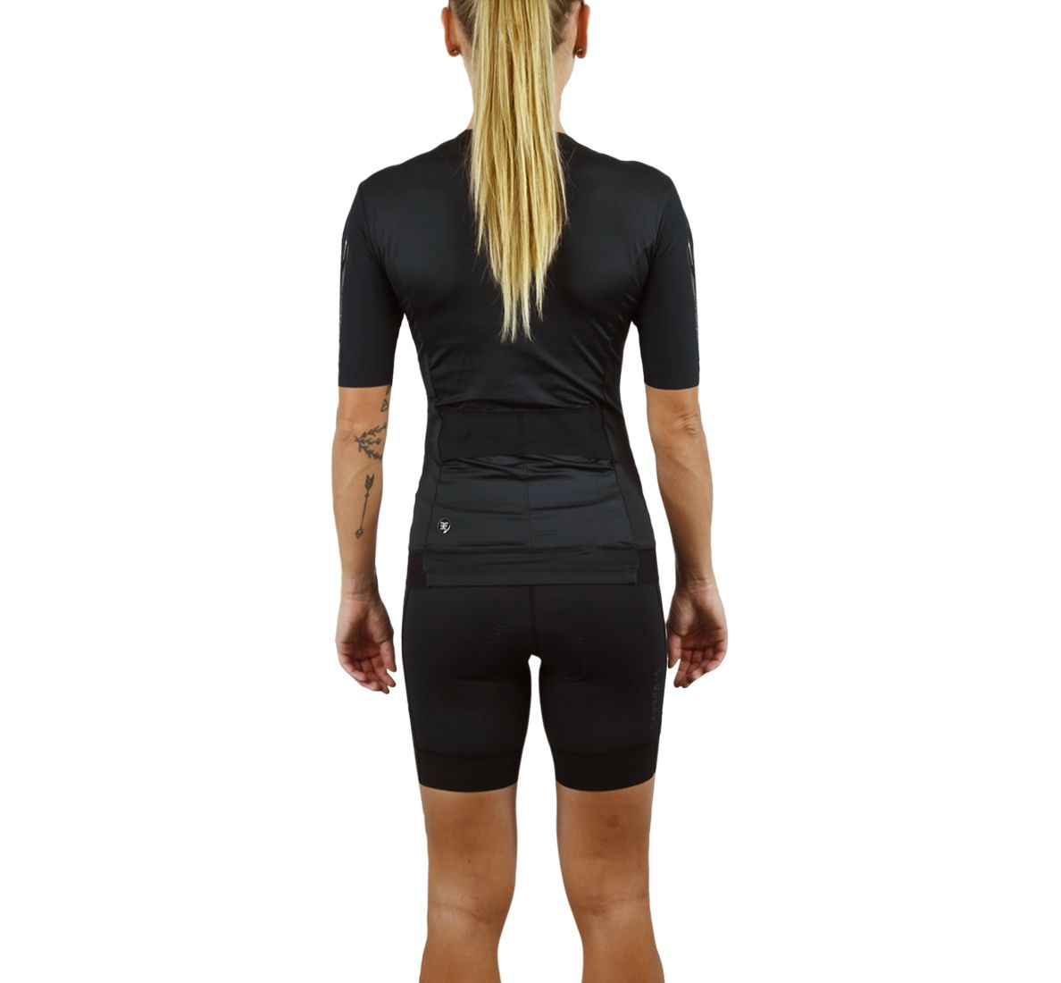 Top Triathlon com manga 140 Carbon - Fem - 2019