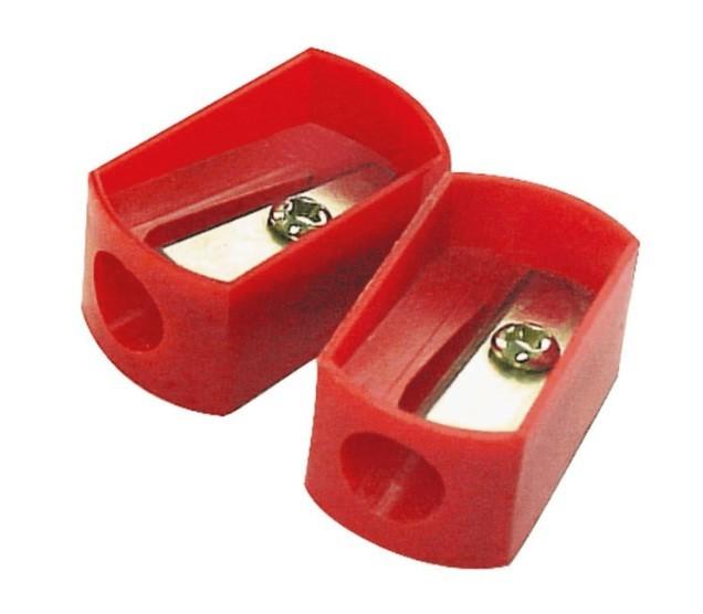 Apontador sem Deposito Cis-638 Retangular Plast. Cores