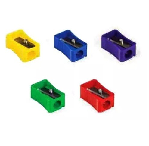 Apontador Simples Caixa Cores Sortidas (50 unidades) - Faber Castell