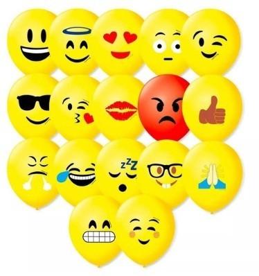 Balão Decorado  N 9 Emoções Sortido PT/25