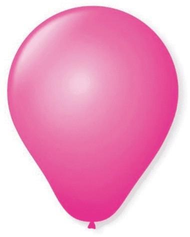 Balão Liso Basic 6,5 ROSA (50 Unidades) - São Roque