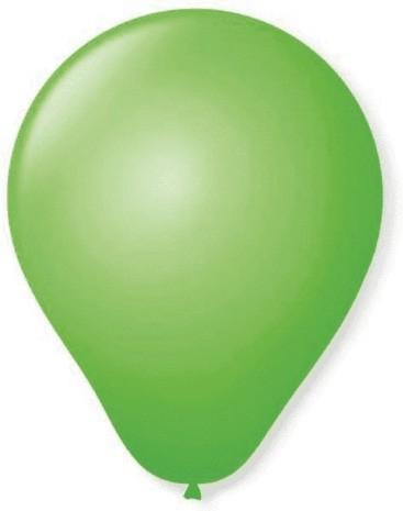 Balão Liso Basic 6,5 VERDE (50 Unidades) - São Roque