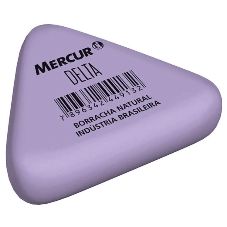 Borracha Branca DELTA TRIANGULAR colorida - Mercur