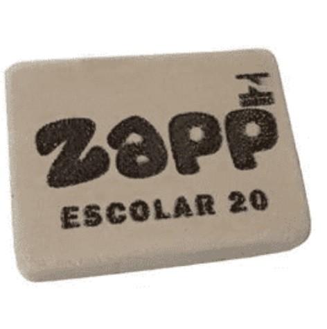 Borracha Branca Escolar B20 - Zapp