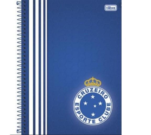 Caderno Espiral Capa Dura - Cruzeiro 96 Folhas - Tilibra