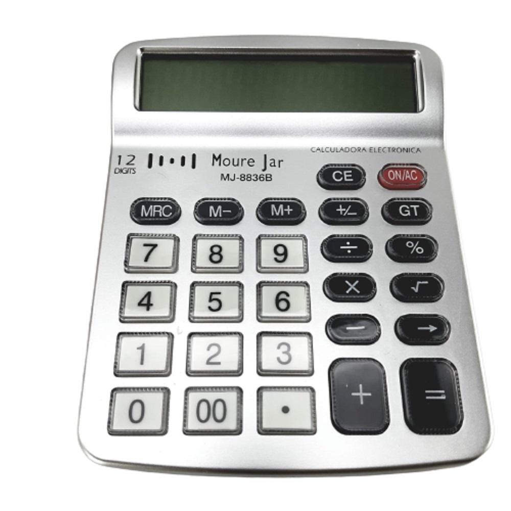 Calculadora 12 digitos - MJ 8836 B