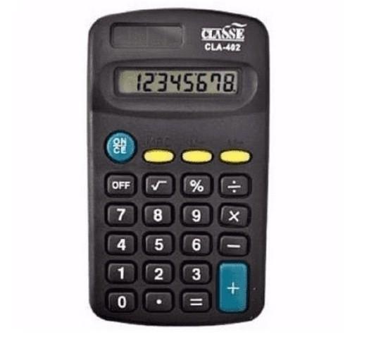 Calculadora de Bolso Classe - 8 Dígitos Cla-402