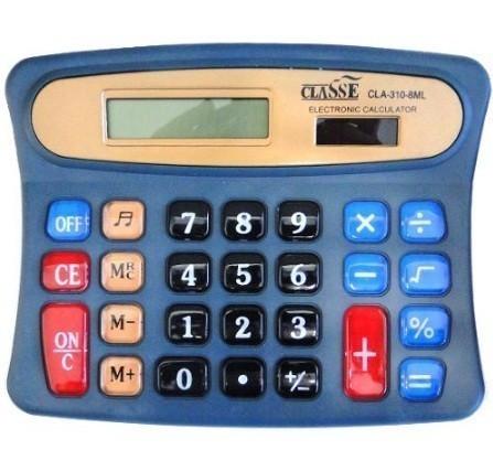 Calculadora De Mesa Classe 8 Dígitos Cla-310-8ML