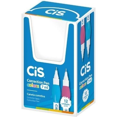 Caneta Corretiva Cis Correction Pen Colors - 7Ml