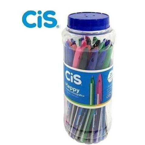 Caneta Esferográfica 0.7 Happy Sortidas - Cis C/24