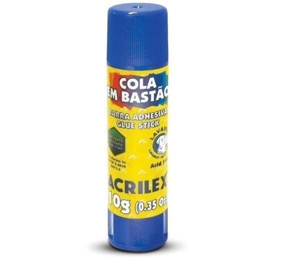 Cola Bastão 10g - PT 10 - Acrilex