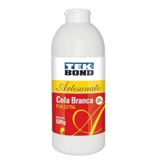 Cola Branca PVA Extra para Artesanato 500g Tek Bond