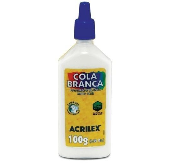 Cola Escolar Branca 100g - Acrilex