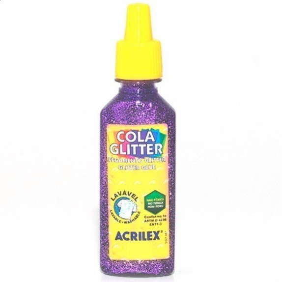 Cola Gliter 35g LILÁS 528 - Acrilex