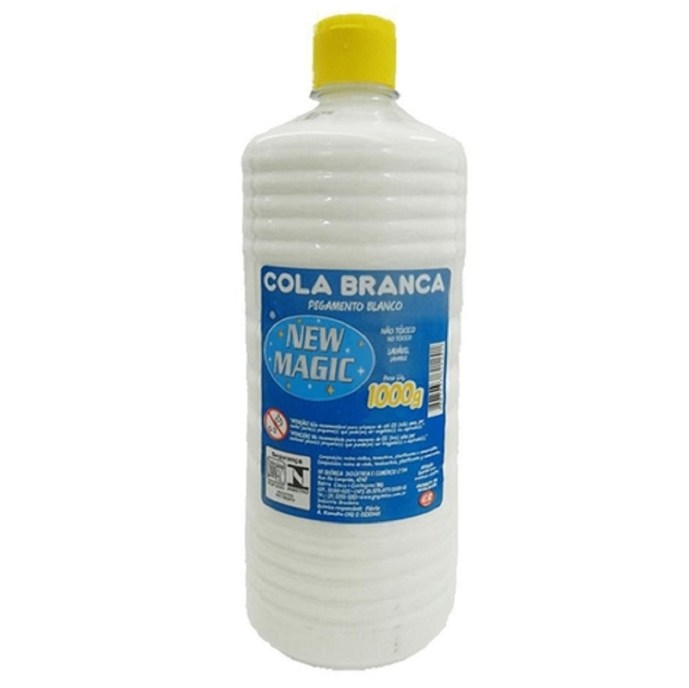 Cola Líquida Branca 1000g - New Magic