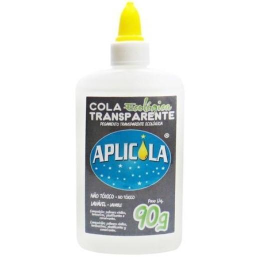Cola Transparente Ecológica Aplicola 90g (48 uidades) - GR Química
