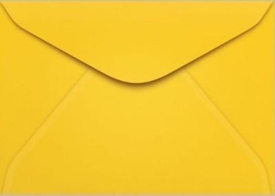 Envelope Carta AMARELO 114x162 (100 Unidades)