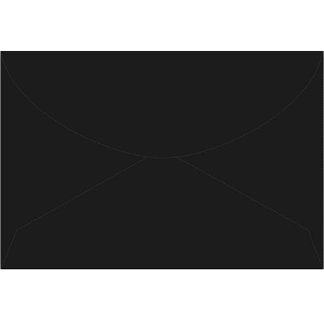 Envelope carta PRETO 114X162 C100