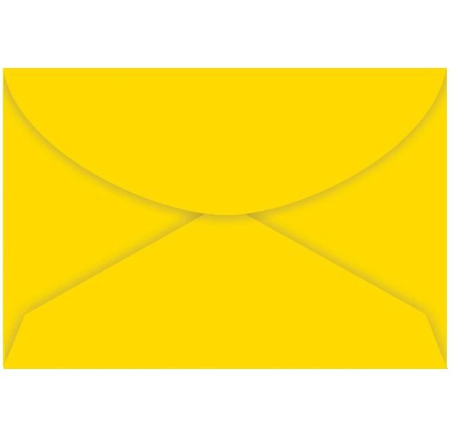 Envelope Visita AMARELO 72x108 (100 Unidades)