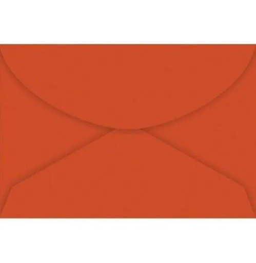 Envelope Visita Vermelho 72X108 C10