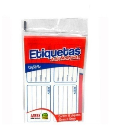 ETIQUETA 53X80 C 16